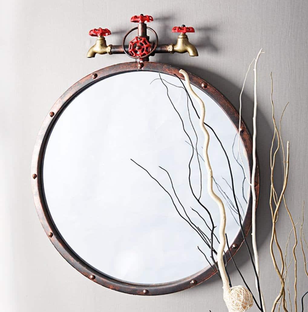 Miroir Industriel 25 Idees Etonnantes Du Rustique Au