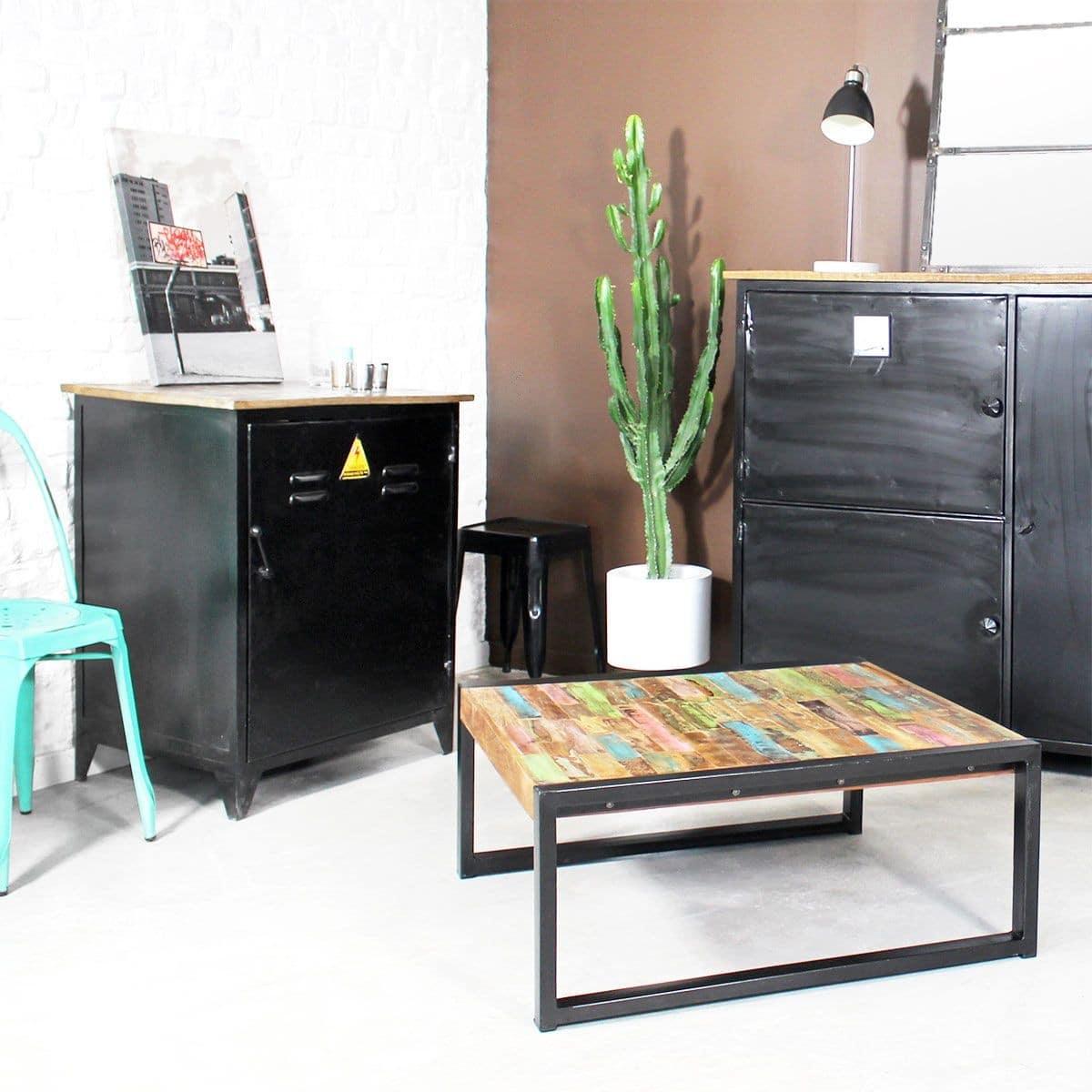 table basse industrielle 50 mod les fous et surprenants 2018. Black Bedroom Furniture Sets. Home Design Ideas