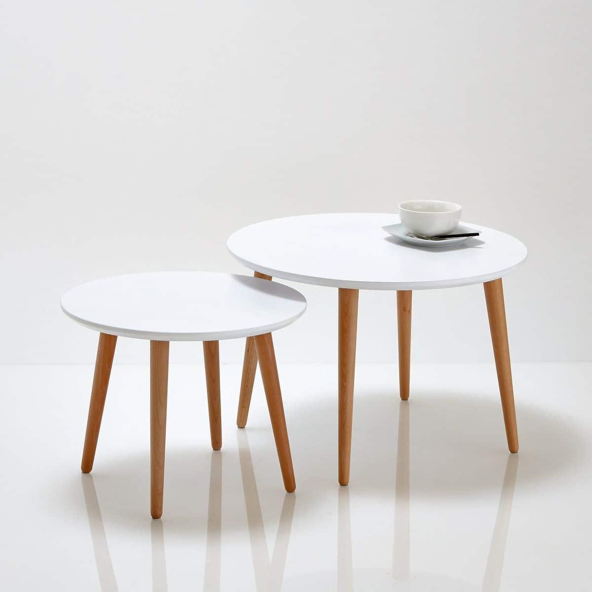 table basse scandinave 33 mod les d 39 inspiration nordique. Black Bedroom Furniture Sets. Home Design Ideas