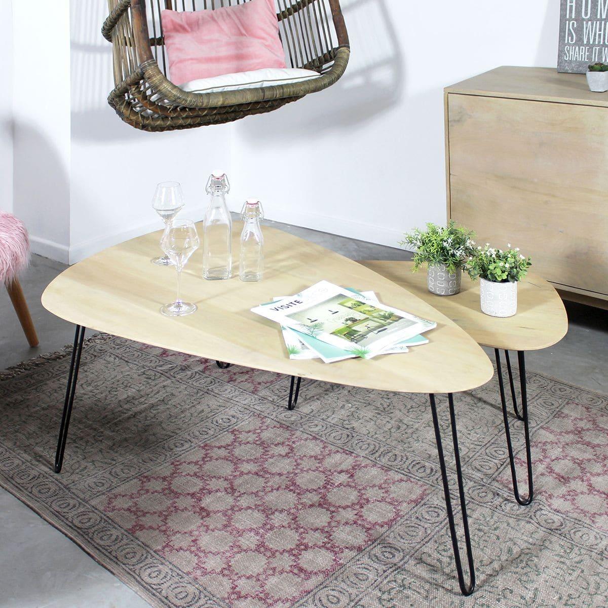 meilleur site web 439fc 21004 Table basse scandinave: 38 modèles d'inspiration nordique (2019)