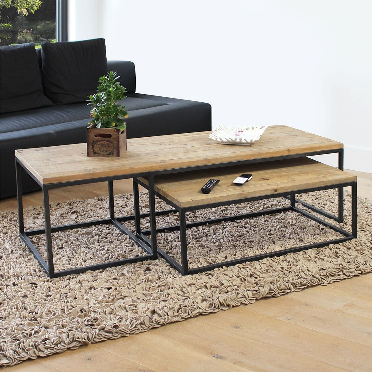 Table basse industrielle 50 mod¨les fous et surprenants