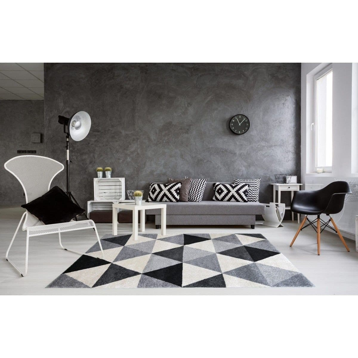tapis scandinave 50 mod les que l 39 on aimerait avoir chez soi 2018. Black Bedroom Furniture Sets. Home Design Ideas