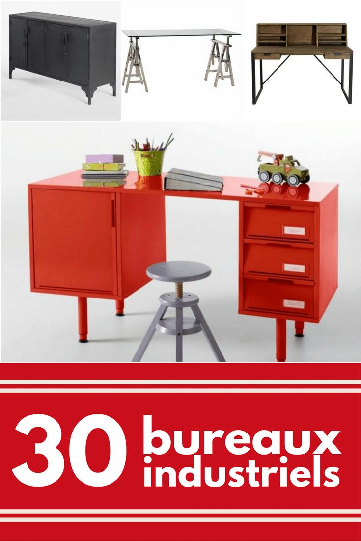 Bureau Metallique Industriel Vintage top 30 du bureau industriel | le guide shopping déco 2019