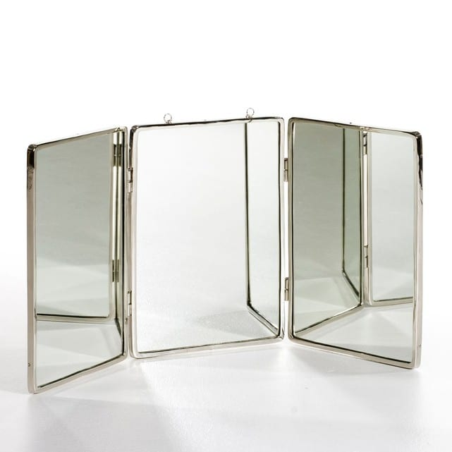 miroir 3 pans vintage