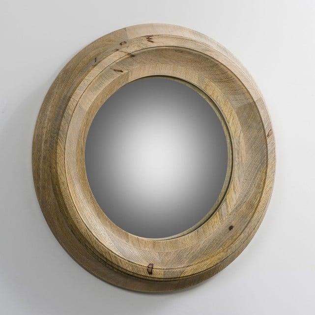 miroir en bois traditionnel