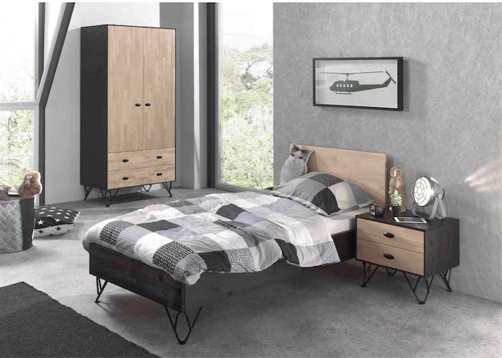 chambre ado fille 40 id es d co qui vont vous faire craquer. Black Bedroom Furniture Sets. Home Design Ideas