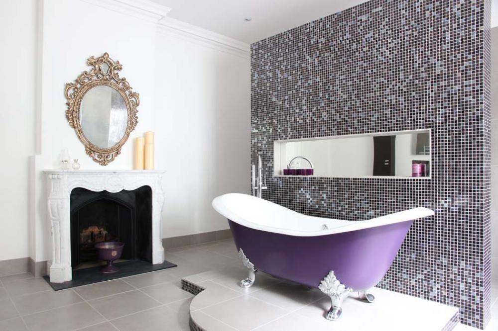 Salle de bain quelle couleur pour quelle ambiance - Couleur tendance pour salle de bain ...