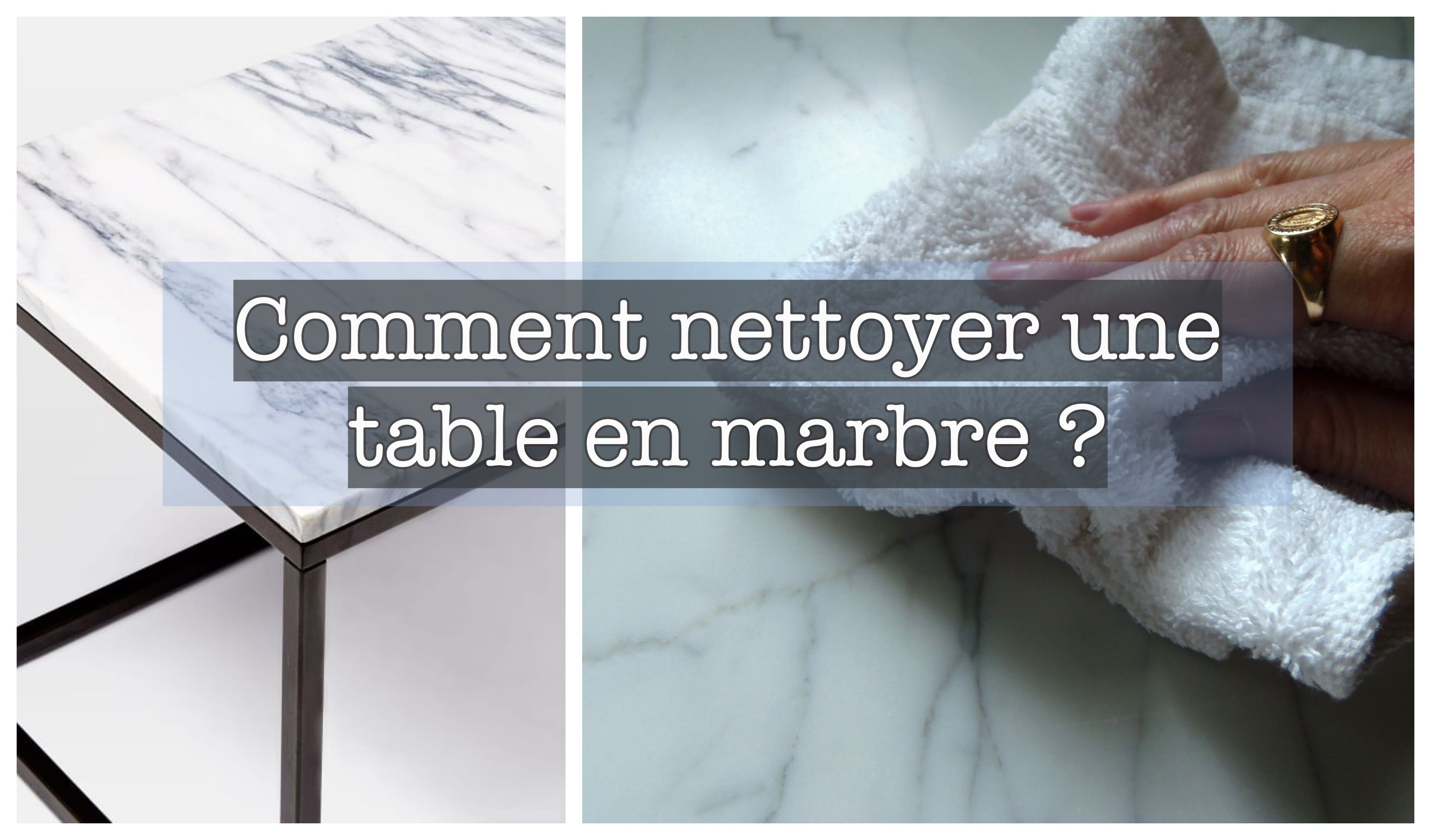 Proteger Table Marbre