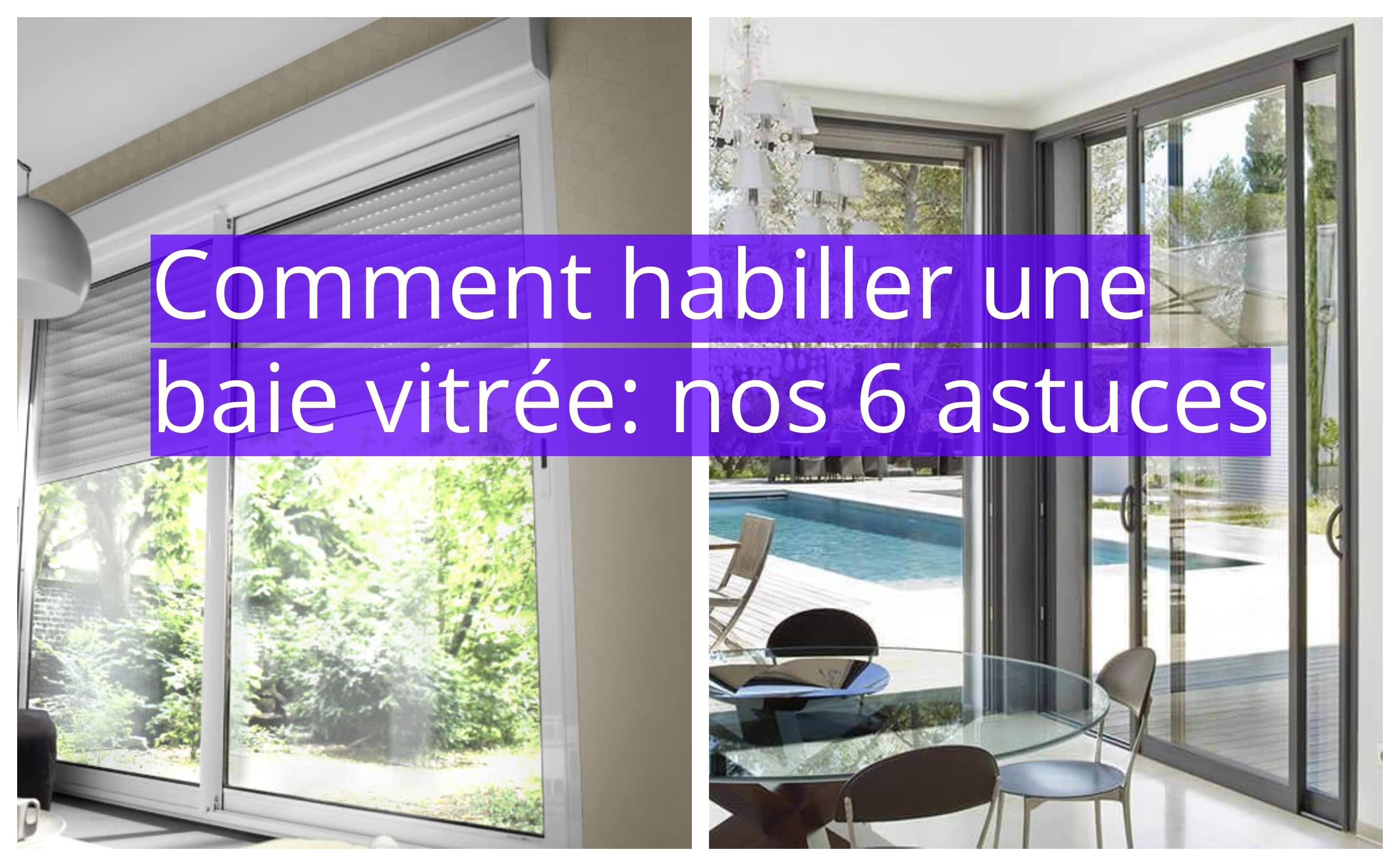 Habillage baie vitr e noel decoration Rideaux baie vitree moderne