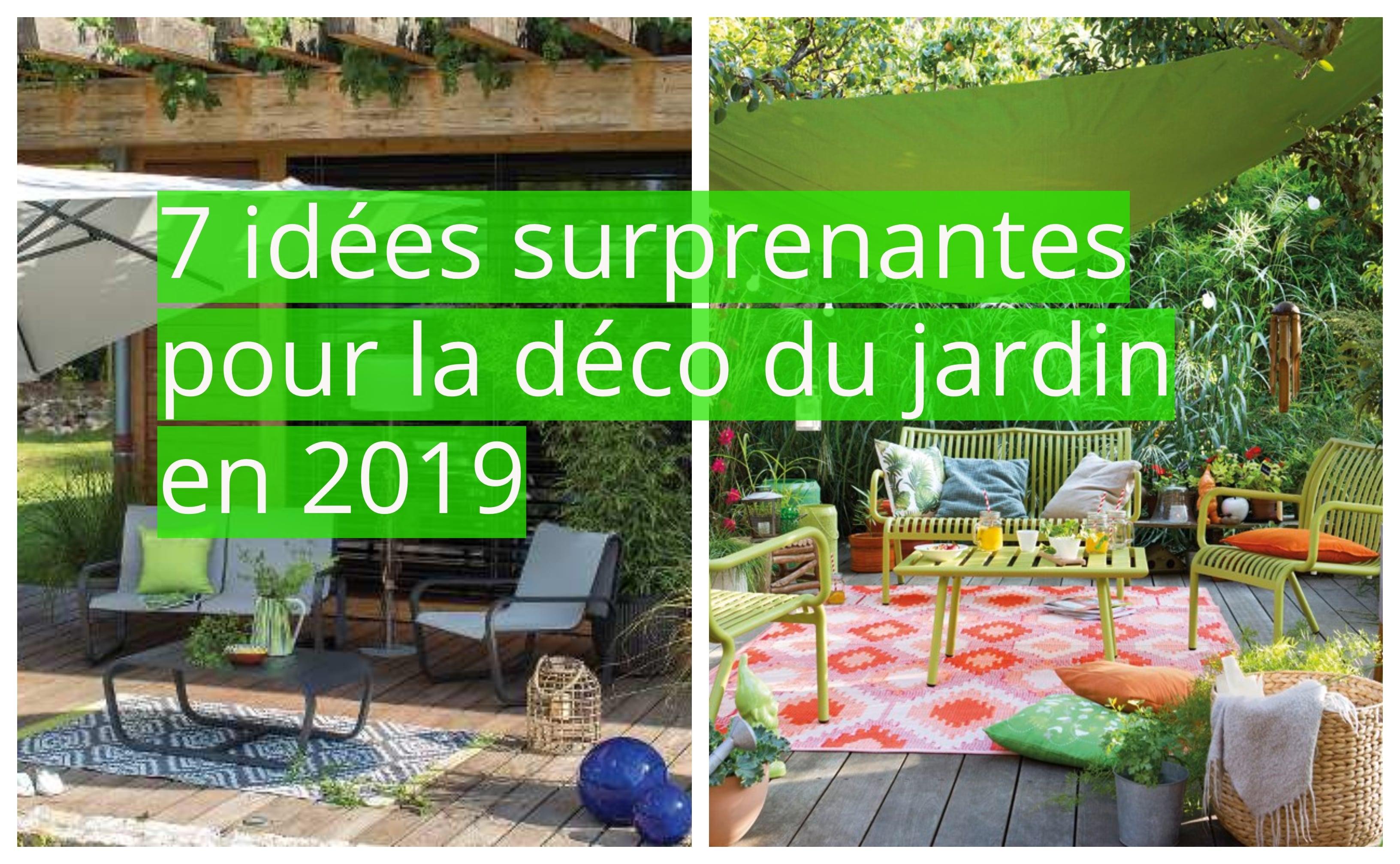 Idee Deco Palette Jardin 7 idées surprenantes pour la déco du jardin en 2019
