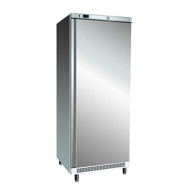 Une armoire réfrigérée grise
