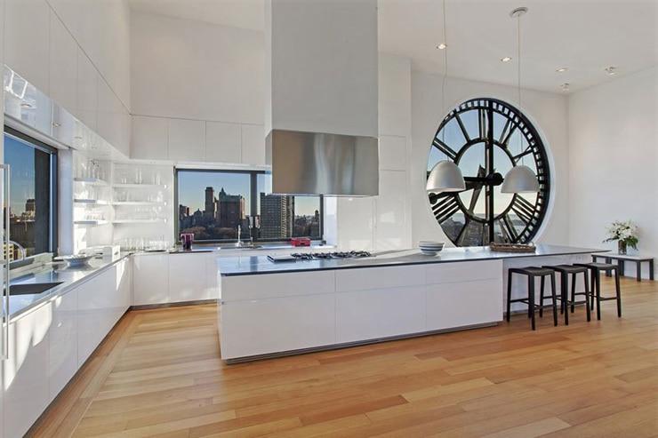 Une cuisine ouverte sur le séjour à 360°.