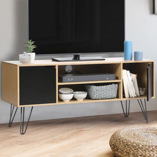 Un meuble TV de style vintage