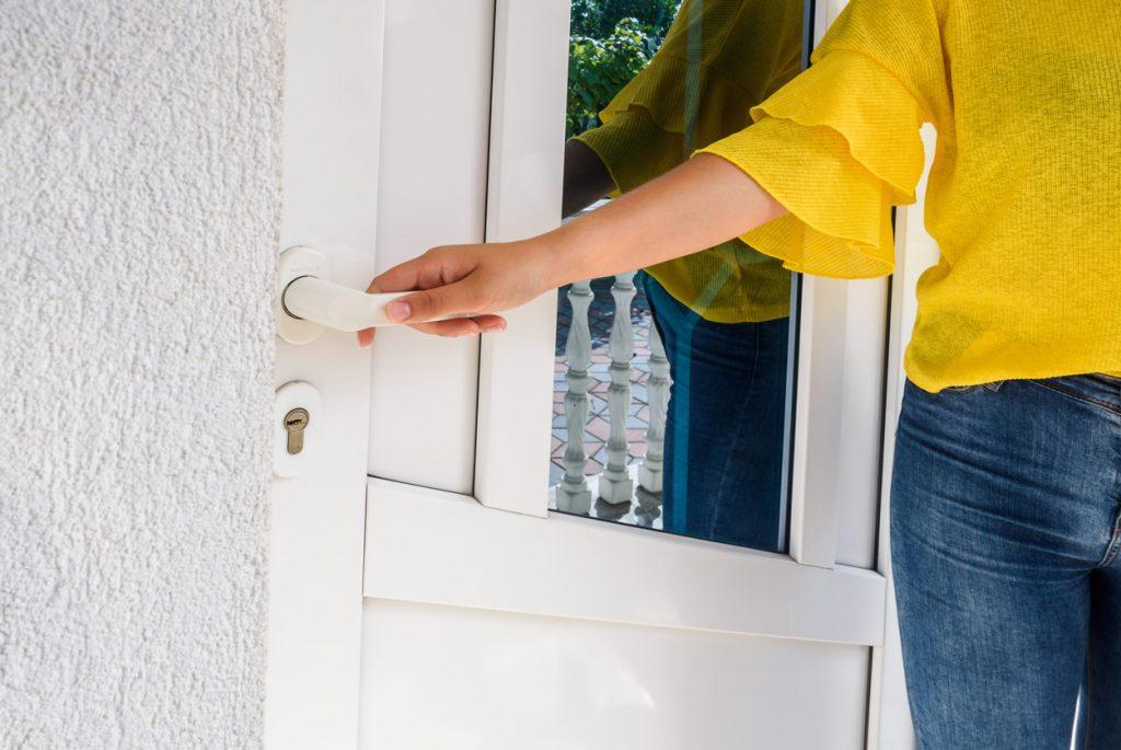Choisir une porte en PVC