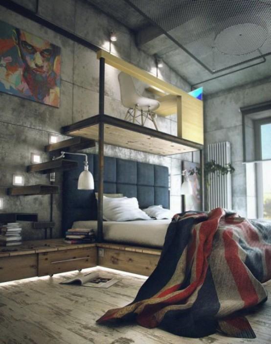 Chambre Ado Style Industriel. Chambre Ado Style Industriel Deco ...